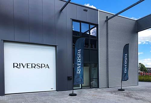 Foto van de Riverspa showroom in Apeldoorn